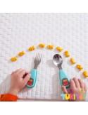 Skip Hop set tenedor & cuchara zootensils hedgehog