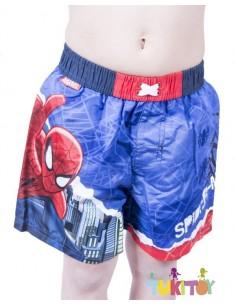 Bañador spiderman Azul