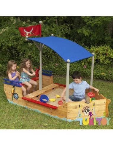 Arenero barco pirata - kidkraft