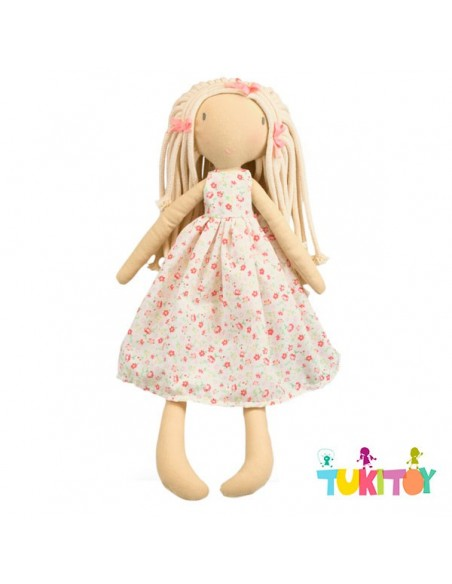 Muñeca de trapo Kelsey – ANDREU TOYS